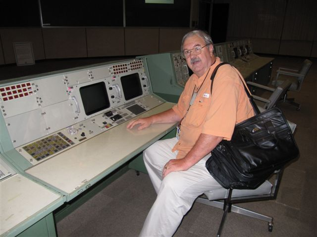 Jim in Mission Control